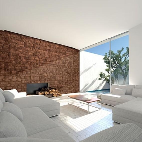 Cork-bricks